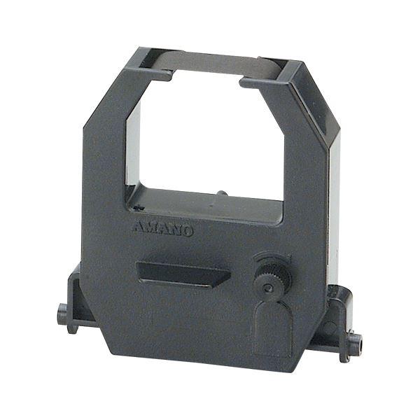 【ポイント10倍】(業務用セット) アマノ インクリボン CE-315150 黒 1個入 【×5セット】 マッドラッシュ
