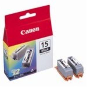 【ポイント10倍】(業務用40セット) Canon キヤノン インクカートリッジ 純正 【BCI-15BK】 ブラック(黒) プリンターインク トナーカートリッジ OAインク トナー リボン