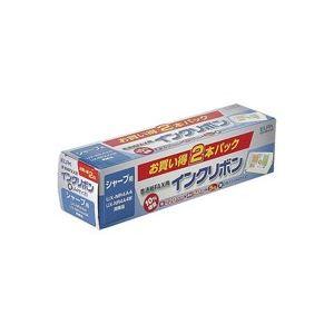 【ポイント10倍】(業務用30セット) 朝日電器 ELPA FAXインクリボン FIR-SR4-2P 2本 ×30セット
