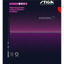 【ポイント10倍】STIGA(スティガ) 粒高ラバー HORIZONTAL 20(ホリゾンタル 20) RED 薄