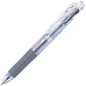 【ポイント10倍】(業務用100セット) ZEBRA ゼブラ 多色ボールペン サラサ3 【0.5mm】 ゲルインク J3J2-C 軸色透明 便利な3色ゲルインクボールペン 複合筆記具 事務用品