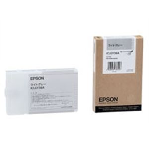 【ポイント10倍】(業務用10セット) EPSON エプソン インクカートリッジ 純正 【ICLGY36A】 ライトグレー インクジェットプリンタ用 プリンターインク トナーカートリッジ【古い】
