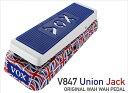 【ポイント10倍】【お取り寄せ品】VOX V847 Union Jack ORIGINAL WAH WAH PEDAL / ボックス V847-A-UJ ワウペダル ユニオン・ジャック柄 数量限定品