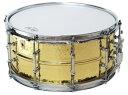 【ポイント10倍】【お取り寄せ品】送料無料 LUDWIG Hammered Brass Series LB422BKT ラディック ハンマードブラスシリーズ スネア ドラム