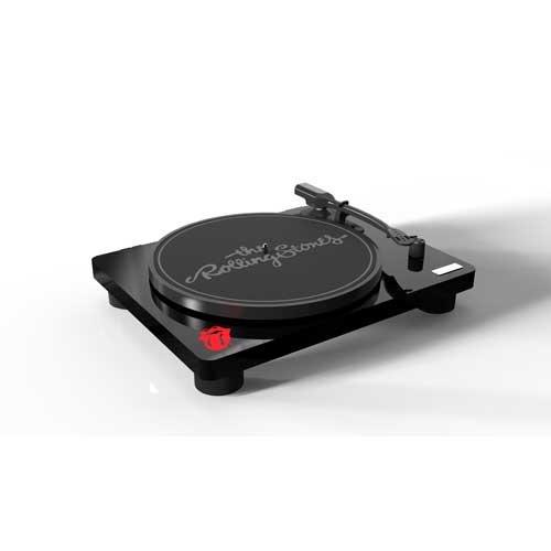 """Amadana Music レコードプレーヤー SIBRECO Limited Edition """"The Rolling Stones"""" アマダナレコード/ザ・ローリング・ストーンズ 全世界1,000台限定商品(シリアルナンバー入り)"""
