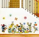 【Disney】ディズニー ミッキーミニー クラシック 小さいタイプ ウォールステッカー