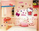 Hello Kitty ハローキティー ウォールステッカー 貼って 剥がせる 壁紙 壁シール