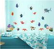 ファインディング ニモ ドリー Disney Finding Nemo Dory ディズニー ウォールステッカー 貼って 剥がせる 壁紙 壁シール 子供部屋