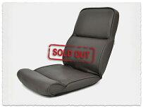 6段階リクライニング低反発ハイバック座椅子パンサー ダークブラウン色