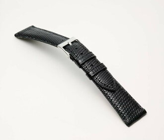 Clock band 16mm 17mm 18mm 19mm 20mm for clock belt clock band BT523A グレーシャスリザードメンズ clock belt black watches