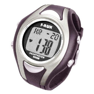 Heart rate monitor watch buzz right now! Compact-watch with a heart rate sensor of high sensitivity. F / F RUN (Efrain)-RUN ハートメーターウォー King heart rate monitor (Silver) HM42S fs3gm
