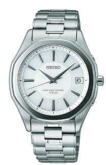 Seiko Dolce & exe line pair model mens watch solar radio watch white SADZ071 [free size]