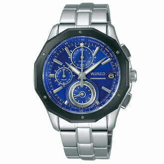 SEIKO wired watch men clock chronograph AGAW412