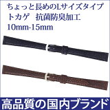 BT551AL【BAMBI】/バンビ/トカゲ Lサイズ/ レディース時計ベルト /黒/ 腕時計用時計バンド/2,793円 fs2gm