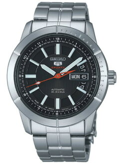 Seiko mechanical watches men's watches mechanical automatic winding ( hand 巻つき ) SARZ043