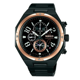 セイコーワイアード men's watch quartz movement AGAV770 chronograph BASELWORLD limited edition
