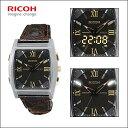 【RICOH】リコー APEX REMINDER アペックス・リマインダー メンズ腕時計 LEDライ