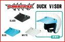 【DAMMTRAX】ダックバイザー ほとんどのジェットヘルメットに装着可能 DUCK VISOR 汎用 ダムトラックス 日差し 日除け おしゃれ ヴィンテージ モトクロス【バイク用品】