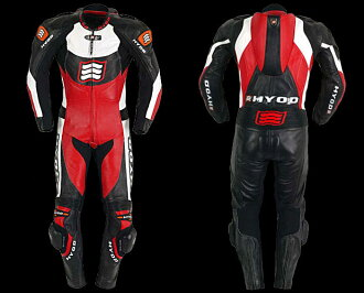Techonology: HYOD:HRS003, 103: HYOD RACING STD MINERVA HRS003, 103: ITALIAN RED/BLACK