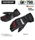 ◇【KOMINE】コミネ GK-798 スーパーファブリック ウォームグローブGK-798 SuperFabric® Warm Gloves 防寒 保...