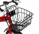 送料無料 MINI KIDS BIKE16 2016モデル 子供用自転車 チリレッド 赤 ミニ 適正身長101〜119cm BMW 子供車 補助輪付き かご付き 14インチ ジュニア 自転車 キッズ おしゃれ