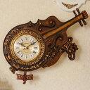輸入雑貨:壁掛時計:ヴァイオリン(文字盤が変わりました!)