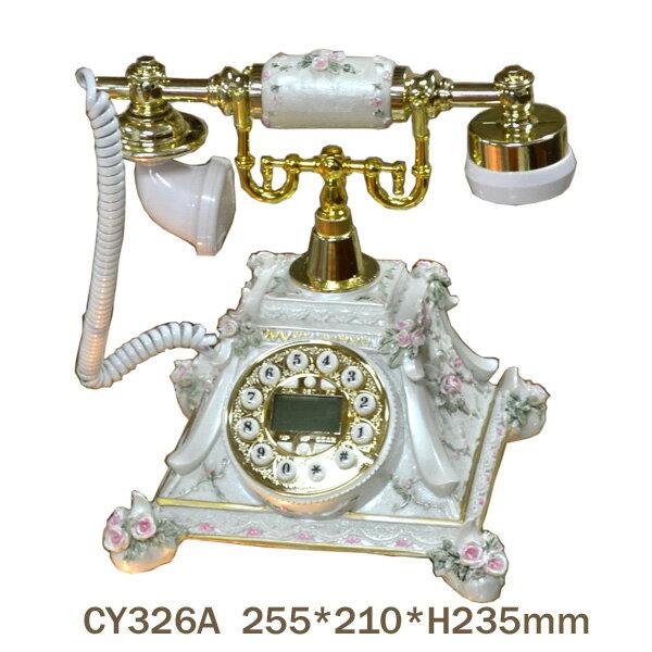 ロココ調!薔薇の電話機:cy326a【送料無料】