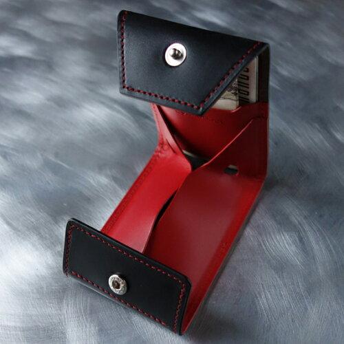 新製品!cyproductカード&コインパースnaked黒/レッド(小銭入れコインケースcoinpursecoincase)