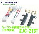 ENDY 東光特殊電線 EJC-213T カーコンポ接続コネクター トヨタ車 2DIN ワイドフェイスパネル付 (10ピン・6ピン) EJC-211Tの後継品