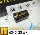 メール便対応で送料無料  インターテクニック フィルムコンデンサー QS-0.33μF/630V AUDYN CAP オーディンキャップ MKP-QS 0.33MF/630V 5% AXIAL