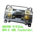 送料無料 マクロム MACROM  MFH-A ANLヒューズホルダーデジタル 電圧計内蔵 在庫僅少