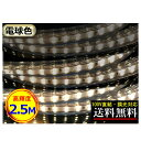 LEDテープライト 調光可能 100V直結 2.5M 250cm 高輝度 明るい 電球色 間接照明 二列式 インテリア CY-TPDW2HM