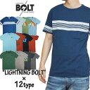 【Lightning Bolt】ライトニングボルト 半袖Tシャツ Tee メンズ カジュアル サーフ サーファー ハワイ カラフル 春物 春夏 夏物 おしゃれ かっこいい 大きいサイズ