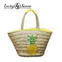 ショッピングカゴ 【LuCky7USA】ラッキーセブンカゴバッグ BASKET BAG 天然素材 レディース カバン 鞄