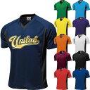 野球 ユニフォーム オーダー Vネックシャツ 2重襟 11色...