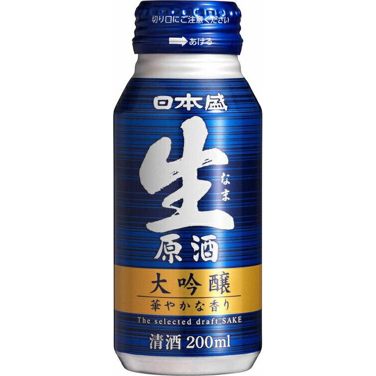 日本盛 生原酒 大吟醸 200ml ボトル缶