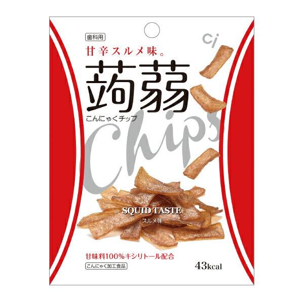 歯科用こんにゃくチップスルメ味1袋(15g)甘味料キシリトール100%(こんにゃく麺好きの方にもおす