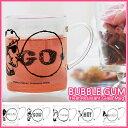 バブルガム 耐熱ガラス マグ / BUBBLE GUMHeat ResistantGlass Mug【あす楽対応】耐熱ガラス マグカップ カップ 耐熱マグ 耐熱マグカップ 逃げ恥 逃げるは恥だが役に立つ