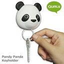 ショッピング壁掛け クオリー パンディー パンダ キーホルダー / QUALY Pandy Panda Key Holder 【あす楽対応】