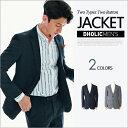 2TYPEツーボタンジャケット・全2色 n48508 メンズ【jk】【クラシック】【ビジネス】【セットアップ単品】【人気】