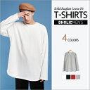 ラグランスリーブビッグシルエットTシャツ・全4色 n49973 メンズ【tops】【長袖】【無地】【人気】 クルーネック