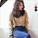 クルーネックスウェットプルオーバー・全4色 n46587 レディース【tops】【トップス】