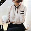 プリーツカラーボウタイブラウス・全2色・b46999 レディース【bl】【ハイホリHIHOLLI】