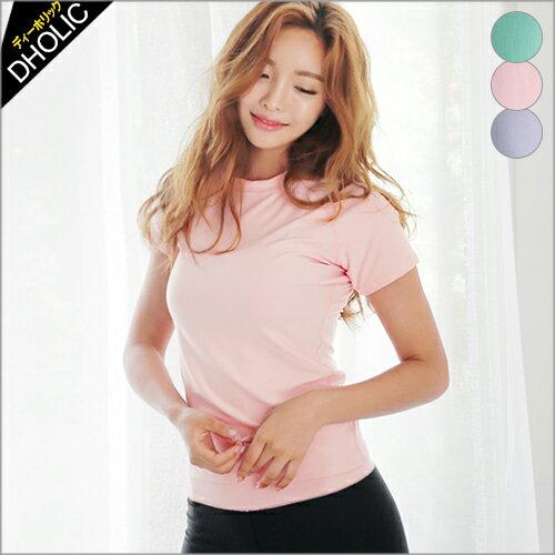 ラグランスリーブフィットネスTシャツ・全3色・42273レディースtopsトップスTシャツフィットネ