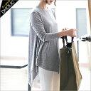 ★ラウンドネックアンバランスオーバーTシャツ・全4色★b39441 レディース【tops】【ハイホリHIHOLLI】