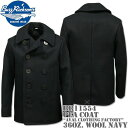 BUZZ RICKSON'S(バズリクソンズ)Type PEA COAT 36oz Wool『NAVAL CLOTHING FACTORY』BR11554