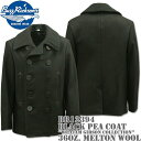 BUZZ RICKSON'S(バズリクソンズ)Type BLACK PEA COAT 36oz Wool『WILLIAM GIBSON COLLECTION』BR12394