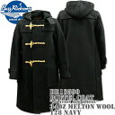 BUZZ RICKSON'S バズリクソンズ Duffel Coat(ダッフルコート)34oz Melton Wool『Aviation Associates』BR13590-128 Navy