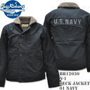 BUZZ RICKSON'S バズリクソンズ N-1 DECK JACKET Navy BR12030-01