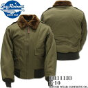BUZZ RICKSON 039 S バズリクソンズフライトジャケット B-10 ROUGH WEAR CLOTHING CO. BR11133 OLIVE DRAB